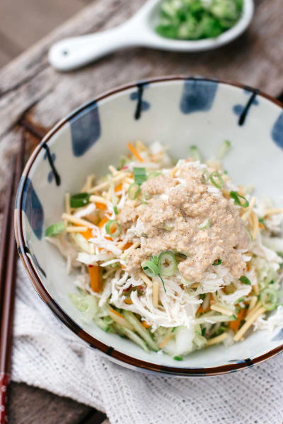 Asian Chicken Salad with Sesame Dressing Pic