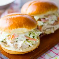 Ranch Pulled Chicken Sandwich Recipe