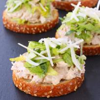 Chicken Caesar Bruschetta Recipe