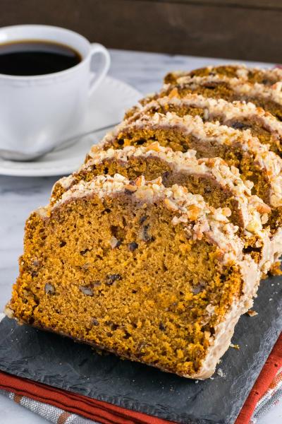 Pumpkin Pecan Bread Pic