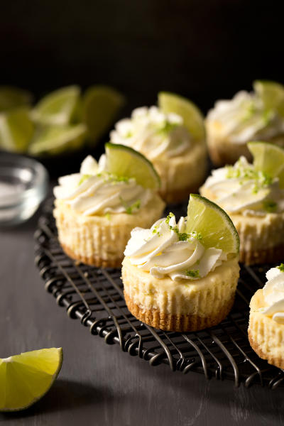 Mini Margarita Cheesecakes Picture