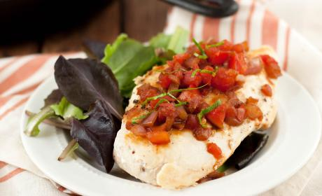 Bruschetta Chicken Skillet Recipe