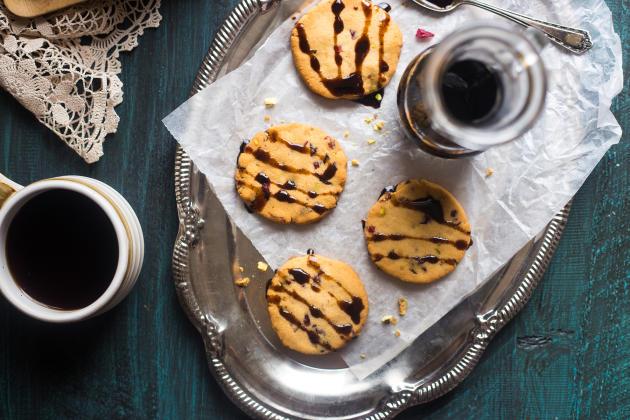 Vegan Shortbread Cookies Photo