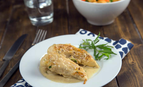 Chicken in Mustard Tarragon Sauce Recipe