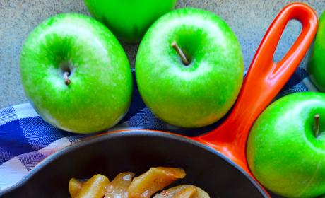 Skillet Cinnamon Apples Picture