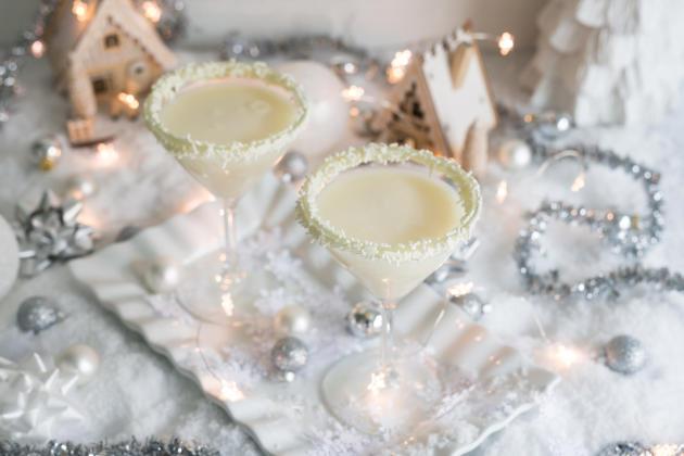White Christmas Cocktail Photo