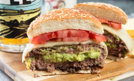 Bacon-Wrapped Guacamole Burger Bombs Recipe