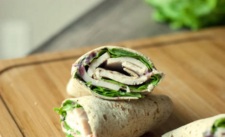 Spicy Turkey Wrap