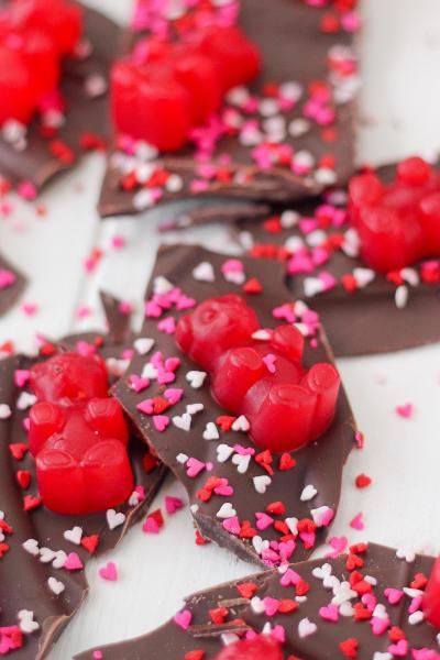 Valentine's Day Chocolate Bark Image