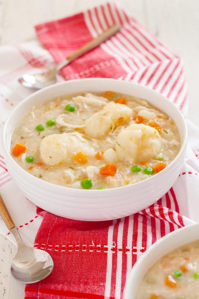 Gluten Free Chicken and Dumplings Picture