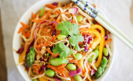 Spring Vegetable Pad Thai: Fresh & Fast
