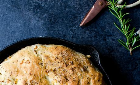 Herb Skillet Bread Picture
