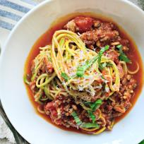 Zoodles Bolognese Recipe