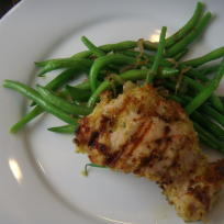 Garlic Breadcrumb Chicken
