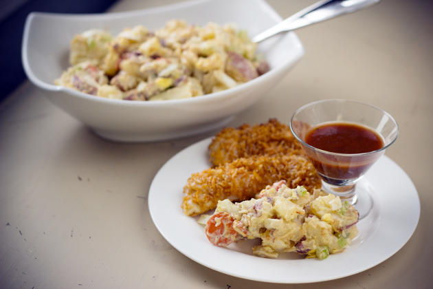 Healthy Potato Salad Photo