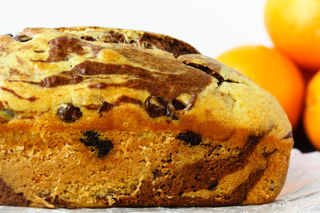 Marbled Chocolate Orange Bread Photo
