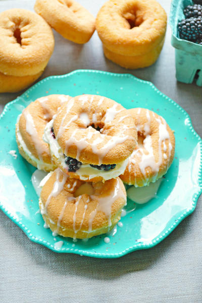 Lemon Cheesecake Donuts Picture