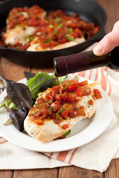 Bruschetta Chicken Skillet Image