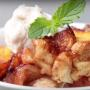 How to Bake an Easy Peach Cobbler