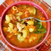 Chicken Minestrone Soup Recipe