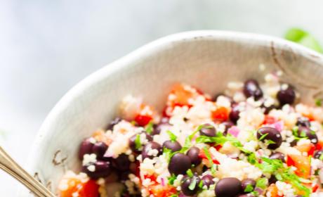 Black Bean Couscous Salad Picture