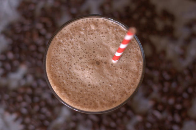 Dairy Free Coconut Mocha Frappe Photo