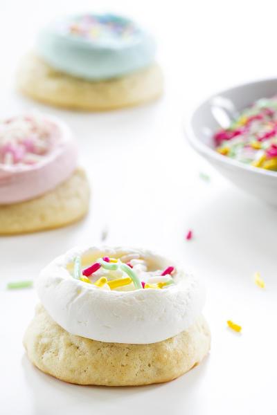 Soft Frosted Sugar Cookies Picture