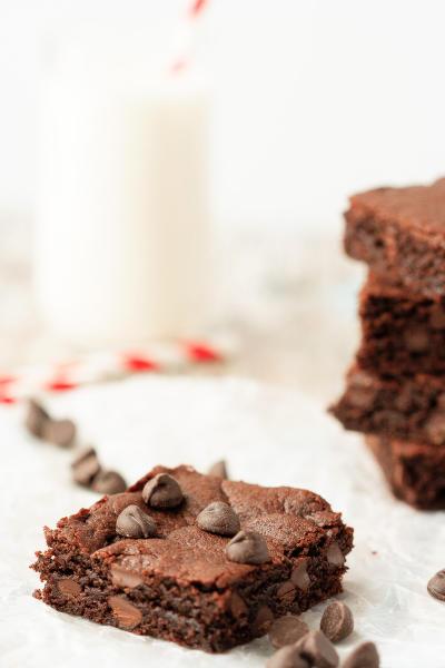 Flourless Peanut Butter Brownies Image