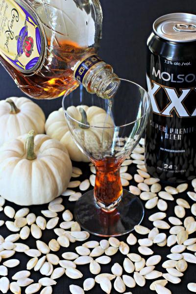 Pumpkin Beer Cocktail Picture
