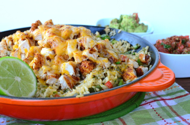 Skillet Mexican Chicken & Rice: A Weeknight Winner! - Food Fanatic