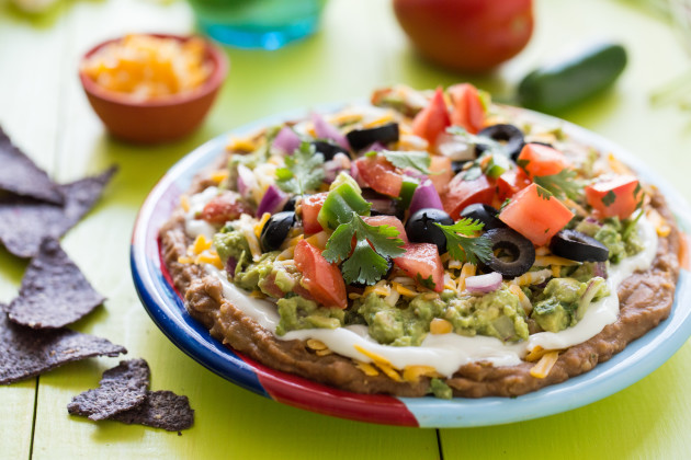 Mexican Layer Dip: Let's Get the Party Started! - Food Fanatic