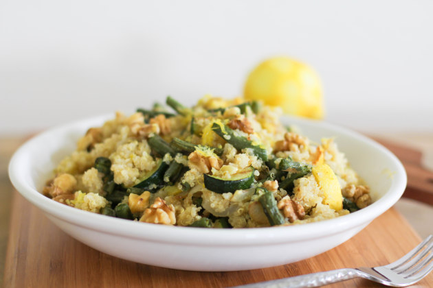 Roasted Summer Vegetable Quinoa Salad: Healthy and Hearty ...