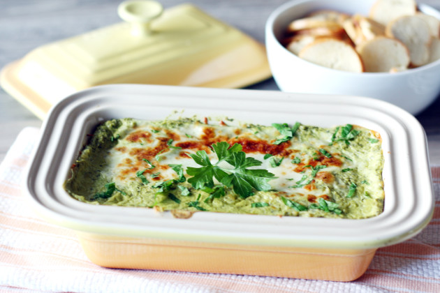 Hot Spinach and Artichoke Dip: Easy Crowd Pleaser - Food Fanatic