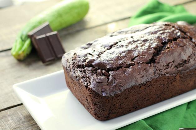 Gluten Free Zucchini Bread: Decadently Chocolate - Food Fanatic