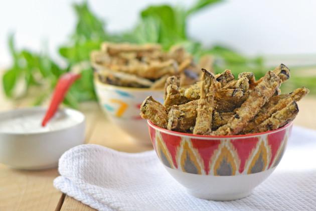Eggplant Fries: Crispy Delicious Side - Food Fanatic