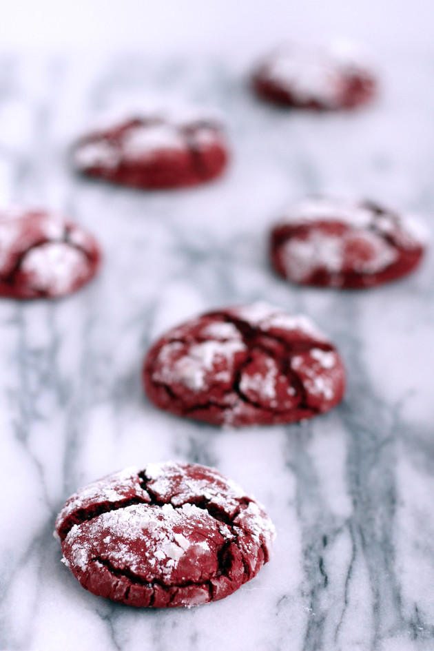 Red Velvet Cookies Picture - Food Fanatic