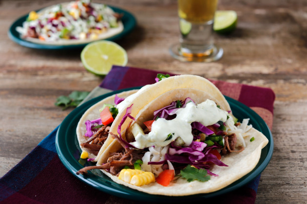 Shredded Beef Tacos: Slow Cooker Star - Food Fanatic