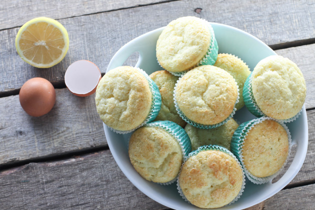 Lemon Ricotta Muffins Full of Sunshine - Food Fanatic