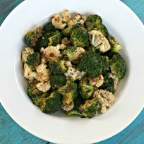 Roasted Broccoli & Cauliflower Picture
