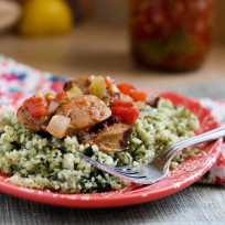 Paleo Sausage and Cauliflower Rice Recipe