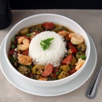 Chicken, Sausage and Shrimp Gumbo Recipe