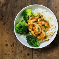 Shrimp and Rice Bowl