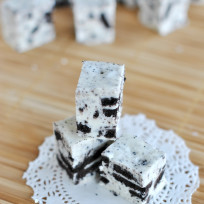 Cookies and Cream Fudge Photo