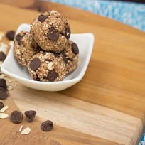 Peanut Butter Oatmeal Balls Photo