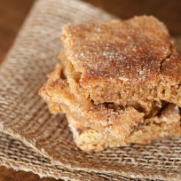 Snickerdoodle bars photo