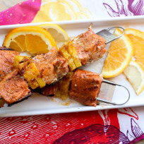 Paleo Salmon Kabobs Recipe