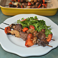 Teriyaki Steak Kabobs Recipe