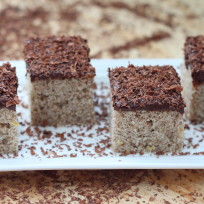 Grated Chocolate Cake Recipe