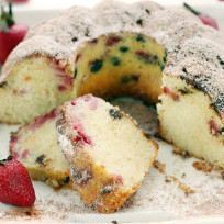 Strawberry Bundt Cake Recipe