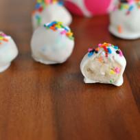 Cookie dough truffles photo